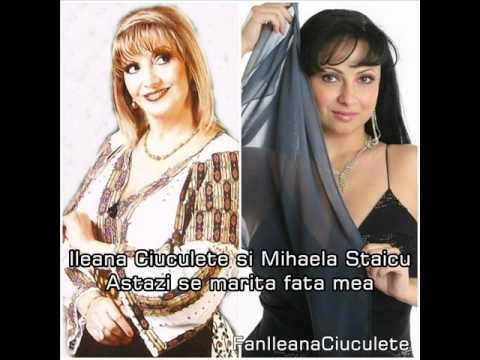 Ileana Ciuculete si Mihaela Staicu - Astazi se marita sora mea