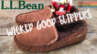 L.L. Bean Wicked Good Slippers