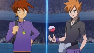Pokemon Battle USUM Blue Vs Gary (Ash