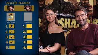 Find Out How Well Do Ajay Devgn & Ileana D'Cruz Know Each In This EXCITING Quiz | Baadshaho