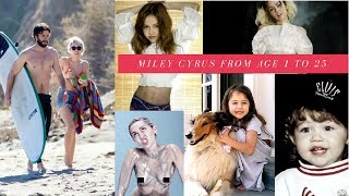 Miley Cyrus Tribute ❤ From Age 1 To Age 25