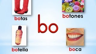 # 9 Sílabas ba be bi bo bu - Syllabes with B