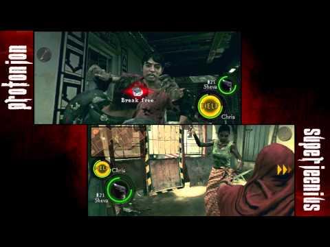 Let's Play Resident Evil 5 - Part 2 - Chapter 1-2 Start