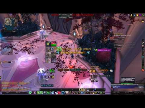 World Of Warcraft CoS M+12 final boss