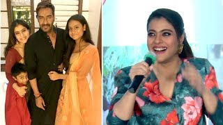 Kajol Shares Her Sweet Moments With Family At Home- Husband Ajay Devgn, Daughter Nysa & Son Yug