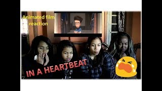Straight people react to IN A HEARTBEAT animated shortfilm