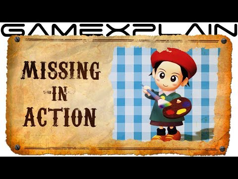 Adeleine s Sketchy Disappearance Missing in Action Kirby s Dream Land