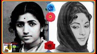 #.0(.LATA & GEETA Roy~Film~NAACH~[1949]~Chhak Chhak Chali Hamari Rail~[ Better 78 RPM Audio ]