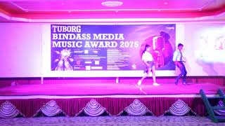 Satkat me Love Hogil Stage Dance : Bindas Media Music Award 2018