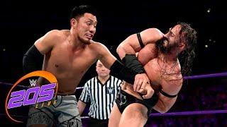 Neville vs. Akira Tozawa - WWE Cruiserweight Championship Match: WWE 205 Live, Aug. 22, 2017