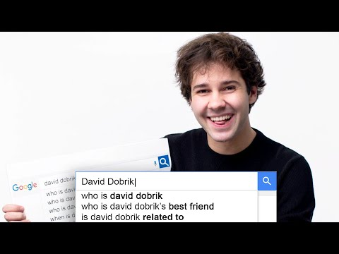 David Dobrik Answers the Web s Most Searched Questions WIRED