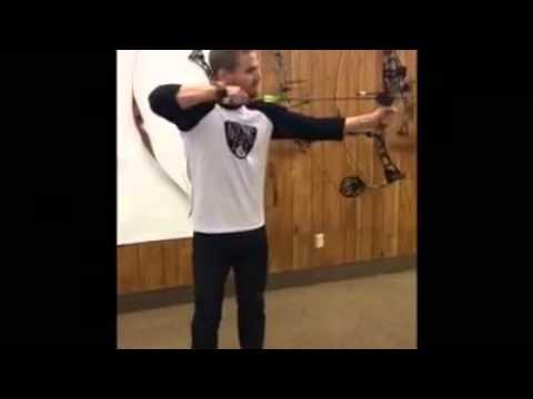 Stephen Amell practice archery Martin Archery