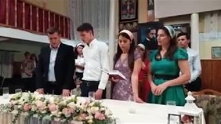 Cântarea - Voi binecuvanta pe Domnul - Nunta - Emilian si Mihaela ( Corocaiesti 09.09.2017