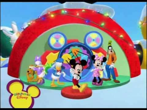 La casa de Mickey Mouse Mickeydanza Navidad