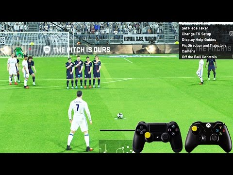 Download Video Tutorial PES 2016-2017 Terbaru : Free Kick, Corner Kick, Driblling - Pro Evolution Soccer
