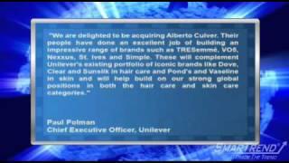 Mergers & Acquisitions: Unilever Acquires Alberto-Culver for $3.7 Billion