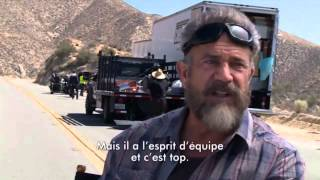 Mel Gibson Interview Blood Father Behind the Scenes footage