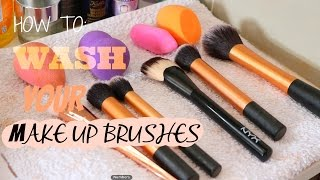 HOW TO WASH & MAINTAIN MAKE UP BRUSHES   BEAUTY CORNER SA   SOUTH AFRICAN BEAUTY BLOGGER
