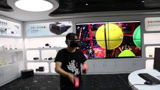 Play Games with ANTVR Cyclop