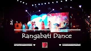 Rangabati Dance Wonderful Dance Performance in Chandannagar College Fresher's 2K16