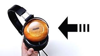 Headphones Made Of Wood!