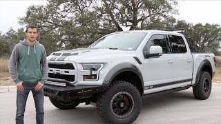 Reviewing the $120,000 Shelby Raptor Baja Edition Ford F-150