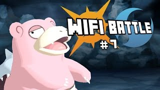 Pokemon Sun and Moon Wifi Battle: SLOWBRO SLACKIN