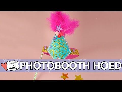 Photobooth Circushoedje - DIY | Jill
