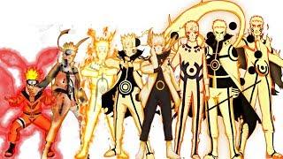 Uzumaki Naruto: Characters Evolution Forms/All Jutsu | Naruto Shippuden,Boruto The Next Generation