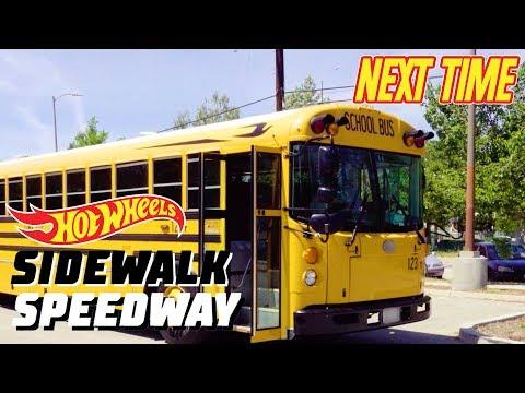 Xxx Mp4 Surprise On Wheels An Epic Hot Wheels Track On A School Bus NEXT On Sidewalk Speedway Hot Wheels 3gp Sex