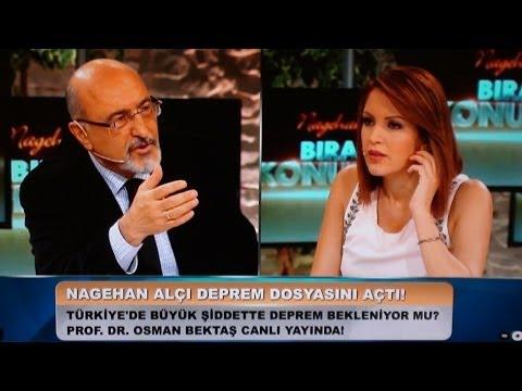Prof.Dr. Osman Bektaş kanal D canlı yayında. İstanbul depremi
