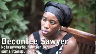 INTERVIEW HIGHLIGHTS: Decontee Sawyer Ebola Education, Compassion And Treatment
