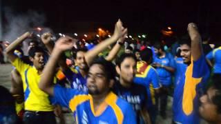 World T20 Victory Celebration