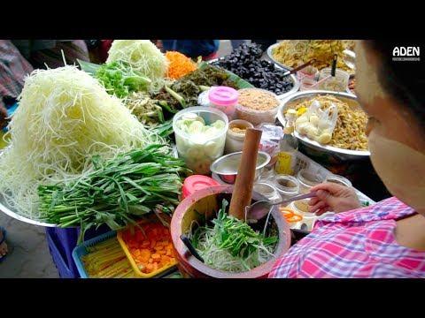 Myanmar Street Food - Mandalay around Zay Cho Market