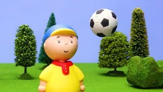 CAILLOU PLAYS FOOTBALL WITH GILBERT - NEW A to Z Puzzle - Toys for kids ADVERTISEMENT