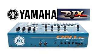 Yamaha DJX Styles into Yamaha RM1x via MIDI
