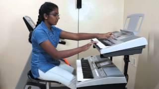 AJEEB DASTAN HAI YEH from Dil Apna Aur Preet Parai (Lata Mangeshkar) on Keyboard by Vany Vinayakumar