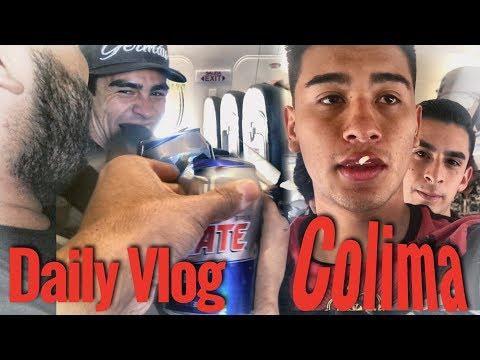 Borrachos en el avión!!? | Colima | DAILY VLOG |