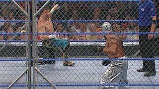 Eddie Guerrero vs. Rey Mysterio - Steel Cage Match: SmackDown, Sept. 9, 2005 (WWE Network Exclusive)