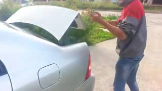 How to open locked Toyota in 15 sec without a key: