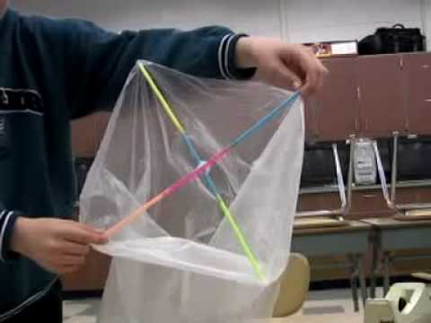 How to Make a Hot Air Balloon Part 5 Making and Launching