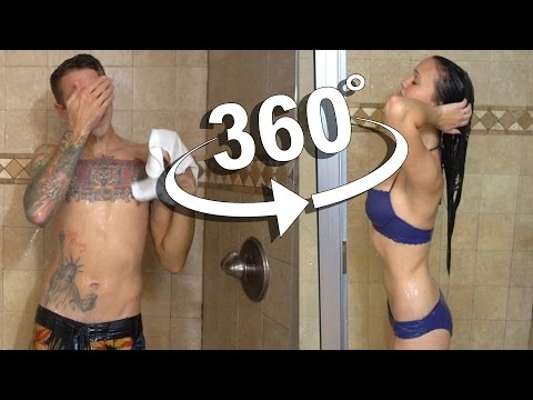360 SHOWER VLOG!! GUY vs GIRL