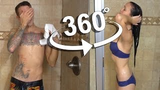 360 SHOWER VLOG!! GUY vs GIRL
