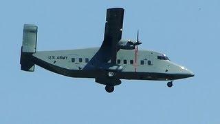 US Army C23 Sherpa in Flight