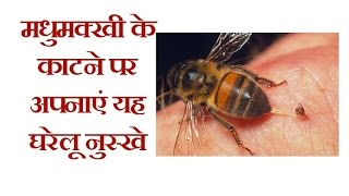 मधुमक्खी के काटने पर अपनाएं यह घरेलू नुस्खे | Natural Home Remedies for Honeybee Sting