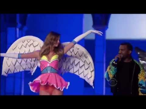 Kanye West ,HD,  Stronger ,Live victoria secret fashion show,HD 720p