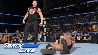 Brock Lesnar invades SmackDown Live: SmackDown Live, Aug. 2, 2016