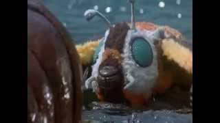 Rebirth Of Mothra scene - Mothra's death
