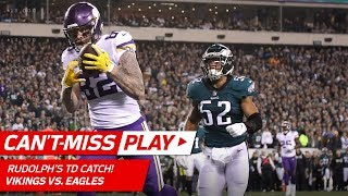 Keenum Hits Rudolph for TD & Celebrates w/ Olympic Curling! | Can