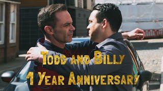 Todd and Billy 1 year Anniversary